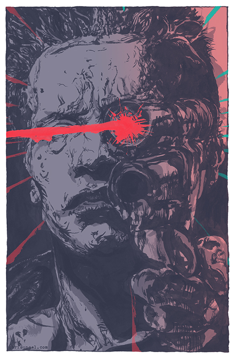 """the terminator"" illustration by Chris O'Neal"
