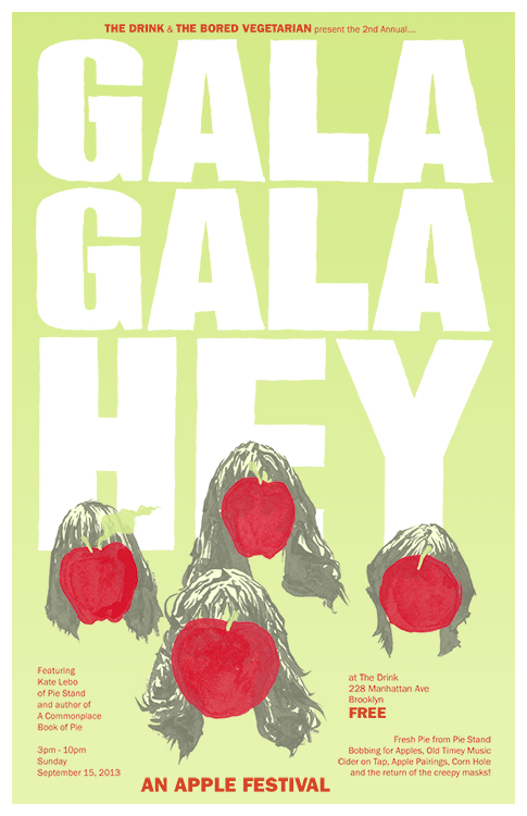 Gala Gala Hey poster by Chris O'Neal