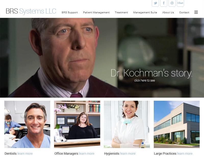 BRS Dental website by Chris O'Neal