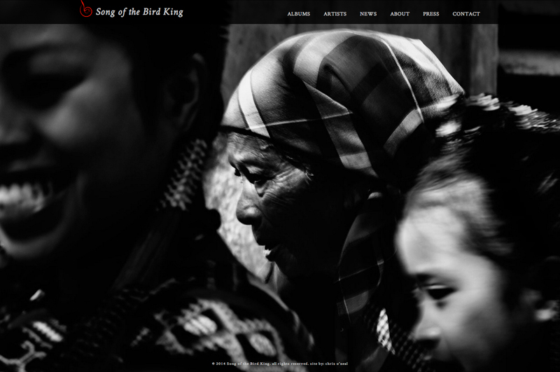 Song of the Bird King  website by Chris O'Neal