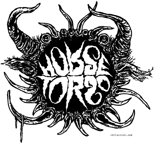 """Horse Torso"" band logo by Chris O'Neal"