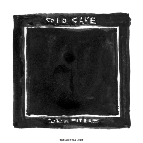 """Cold Cave - Oceans With No End"" drawing by Chris O'Neal"