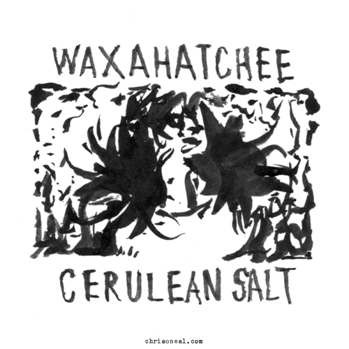 """Waxahatchee - Cerulean Salt"" drawing by Chris O'Neal"