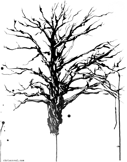 Tree drawing By Chris O'Neal
