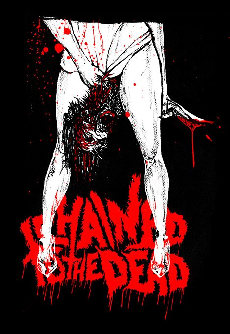 "Chained To The Dead ""Maniac"" shirt design by Chris O'Neal"